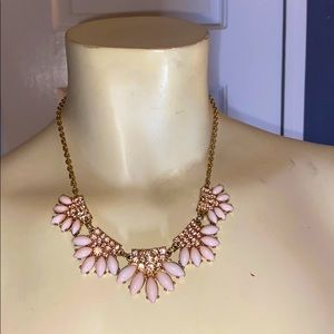 2 for $15 pink statement necklace